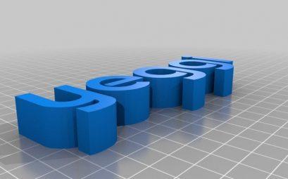 logiciel impression 3d Yeggi