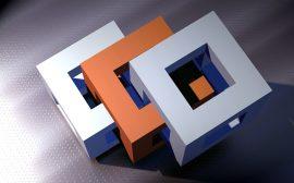 cubes imbriqués dans plusieurs dimensions