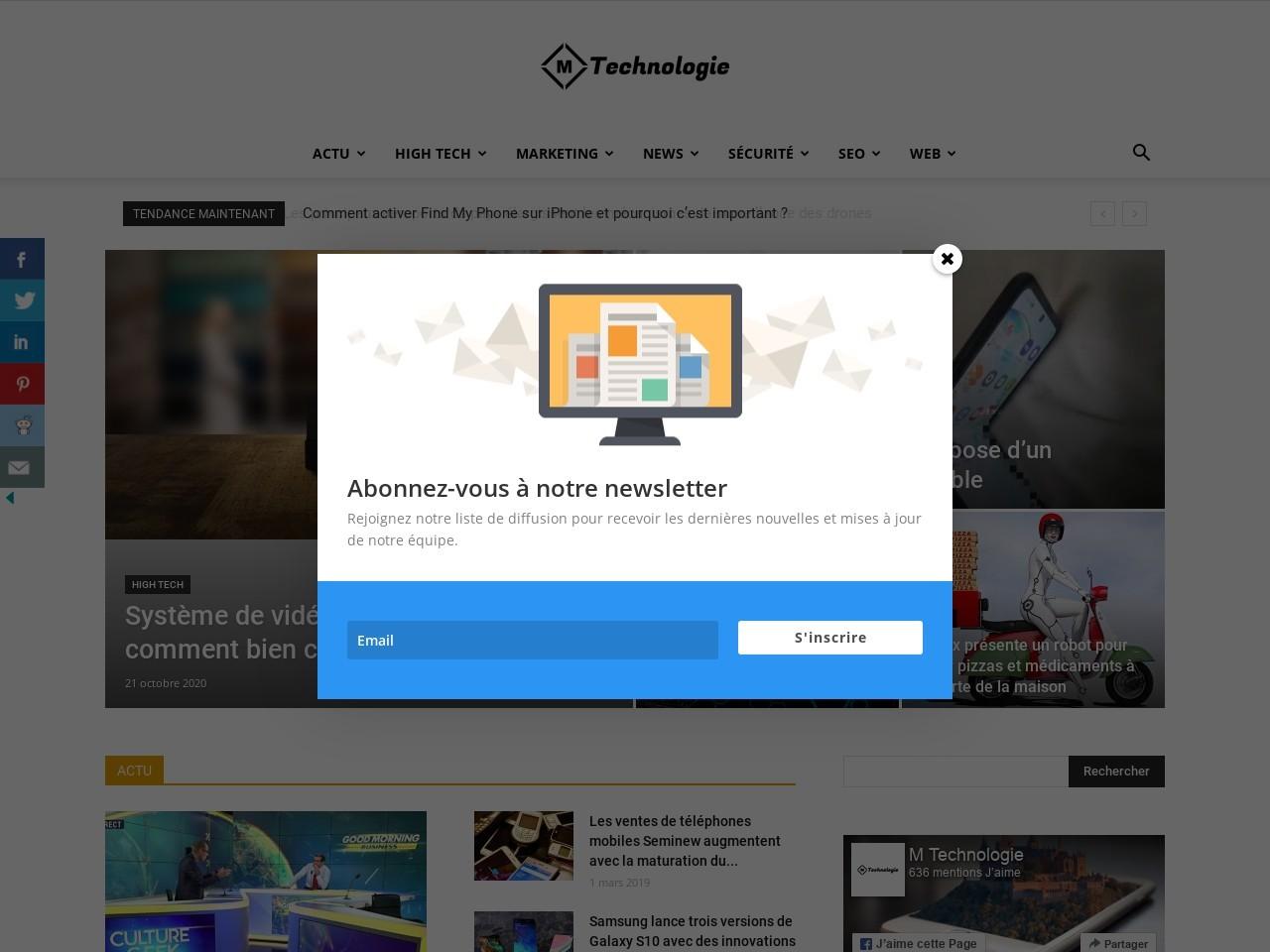 mtechnologie.fr