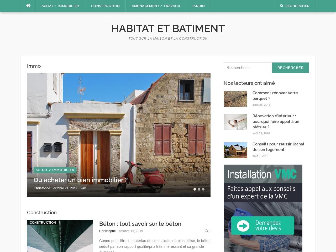 habitatetbatiment.fr