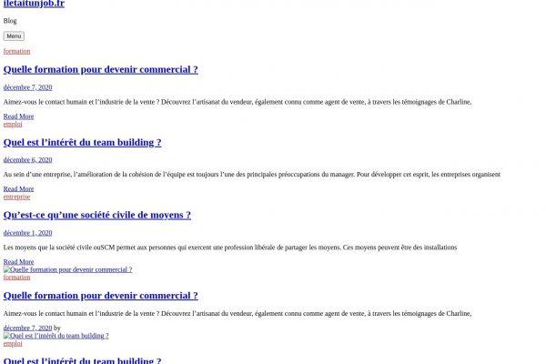 iletaitunjob.fr
